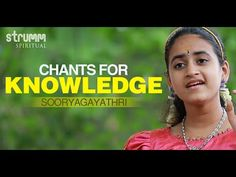 Begin the new year with this wonderful collection of chants for knowledge and wisdom in the voice of Soo. Saraswati Vandana, Gayatri Mantra, Devotional Songs, Knowledge And Wisdom, Spirituality, Youtube, God, Dios, Spiritual