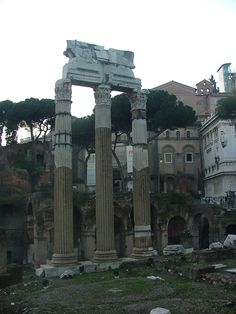 Roman Ruins, Roma, Italia