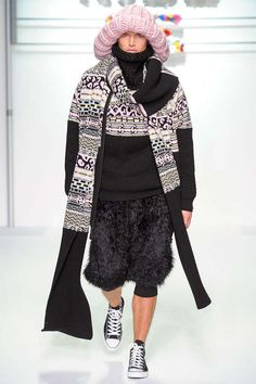 Exaggerated Cotton Candy Knitwear - The Sibling Fall/Winter 2013 Collection Keeps Winter Warm (GALLERY)