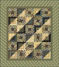 Woodlands Quilt Pattern by Andover Fabrics - free pattern