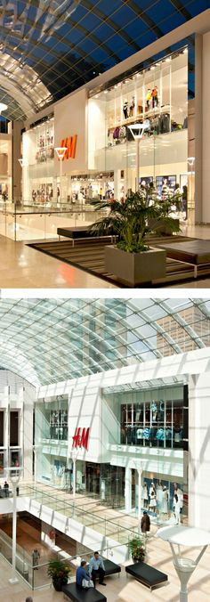 H&M at CORE in Calgary, AB - designed by GH+A