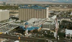 Imperial Palace. Las Vegas, 1982. Before the towers and Asian design, it was Flamingo Capri motel. Today it's The Linq. Photo via classiclasvegas