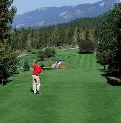Mountainside golf course, Faimont Hot Springs, BC.  It is so amazing to golf here.