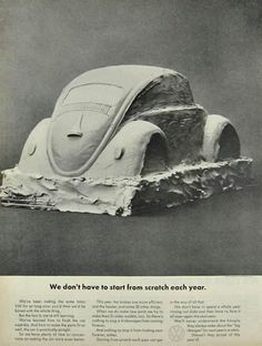 Remembering the Beetle – 30 Volkswagen Ads from the 1960s | Designbeep