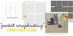 links to blog post with OODLES of links to pocket scrapbooking {AKA Project Life} plastic protectors AND digital templates! It's like hitting the jackpot. || Hot Trends from Paper Scrapping: Pocket Scrapbooking | Sahlin Studio
