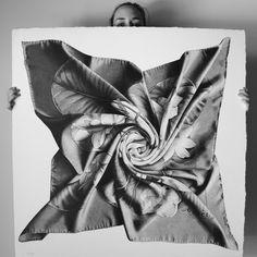 Hermes scarf | UniPin pen art from CJ Hendry