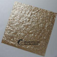 Aliexpress.com: CAESAR DECO MATERIAL CO., LTD üzerinde Güvenilir kabuk rengi tedarikçilerden ezilmiş bal capiz kabuk fayans, olmayan dokuma kumaş destekçisi, doğal shell#l044 Satın Alın