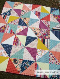 crazy mom quilts: fleet and flourish fabrics