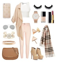 """"""""""" by georgiacorbett-1 ❤ liked on Polyvore featuring beauty, River Island, Burberry, MICHAEL Michael Kors, Chanel, Stella & Dot, Sonix, Acne Studios and Larsson & Jennings"""
