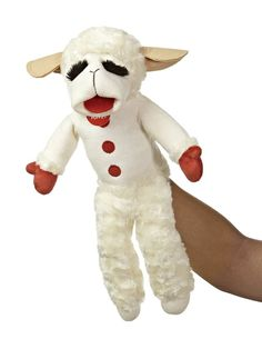 """IT'S THE LOVABLE LAMB CHOP! Since first appearing on the TV show """"Hi Mom"""" in 1957 with her creator, Shari Lewis, Lamb Chop has delighted generation after genera"""