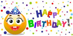 The perfect HappyBirthday HappyBirthdayToYou Hbd Animated GIF for your conversation. Discover and Share the best GIFs on Tenor. Birthday Emoticons, Birthday Smiley, Funny Emoticons, Birthday Pins, Birthday Clipart, Smileys, Happy Birthday Ecard, Cute Happy Birthday, Birthday Greetings