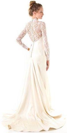 Sheath Wedding Dress :     Picture    Description  Temperley London Long Grace Bridal Dress    - #Sheath https://weddinglande.com/dresses/sheath/sheath-wedding-dress-temperley-london-long-grace-bridal-dress/