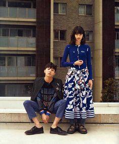 G-Dragon and Nana Komatsu - Nylon Magazine May Issue Asian Fashion, Fashion Photo, Fashion Tips, Boho Fashion, Fashion Jewelry, Nana Komatsu Fashion, G Dragon Fashion, Japanese Model, Komatsu Nana