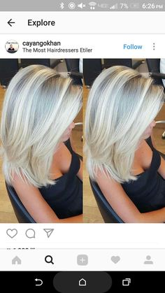 Haarfarbe/Mittelganges Haar You are in the right place about ombre hair orange Here we offer you the Medium Hair Cuts, Medium Hair Styles, Short Hair Styles, Medium Length Blonde, Layered Hair, Great Hair, Hair Highlights, Ombre Hair, Hair Looks