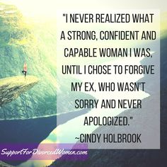 Do you realize how strong you REALLY ARE?! SupportForDivorcedWomen.com