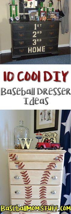10 Cool DIY Baseball Dresser Ideas