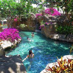 """The Luxury Bali Experience - Best way to start the weekend is to have a refreshing dip in this gorgeous Grand Hyatt Bali (@grandhyattbali) pool …"""