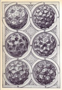 Coelum (c) - Perspectiva Corporum Regularium - Wenzel Jamnitzer 1568 | Flickr…