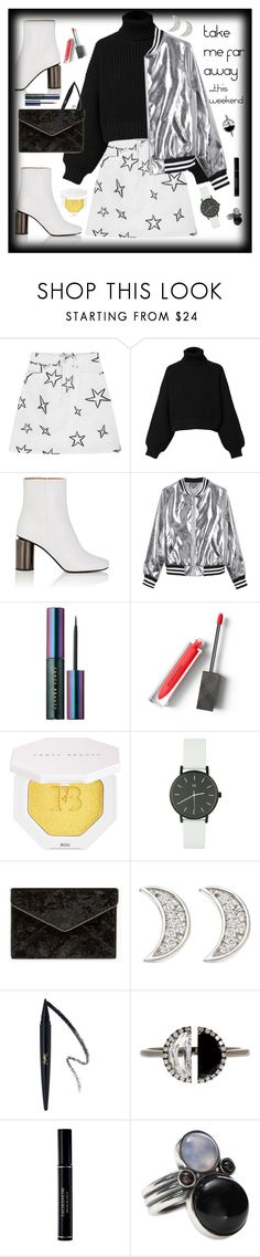 """Take Me Far Away for the Weekend"" by maggiesinthemoon ❤ liked on Polyvore featuring Être Cécile, Diesel, Acne Studios, Sans Souci, Puma, Burberry, Rebecca Minkoff, Astley Clarke, Bony Levy and Christian Dior"