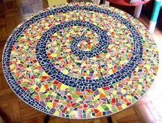 Ceramic Mosaic Tile, Mirror Mosaic, Mosaic Art, Mosaic Glass, Stained Glass, Glass Art, Mosaic Stairs, Mosaic Crafts, Mosaic Projects
