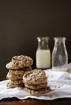 Dairy Free Chocolate Chip Oatmeal Lactation Cookies   iambaker.net
