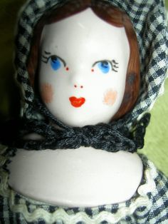 "Set of Four 1940s China Ruth Gibbs Godey's Lady ""Little Women"" Dollhouse Dolls | eBay"