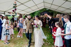 Wasing Park Wedding Berkshire outdoor ceremony