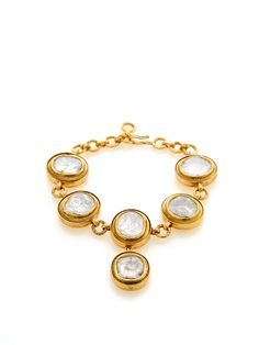 Raw Diamond Station Bracelet from Oscar de la Renta Fine Jewelry on Gilt