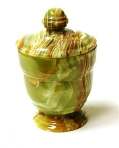 Classic Green Onyx Bathroom Canister. This Classic Green Onyx Canister is part of the Bath Accessories Set in our design series 540.