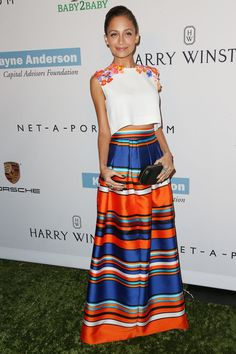 Nicole Richie earned her fashion stripes with this look