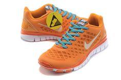 Womens Nike Free Tr Fit Orange Cool
