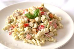 Pestós-görögjoghurtos csirkemell saláta recept