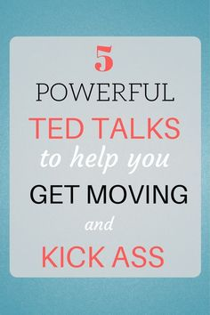 Check out these 5 TED Talks to help you get your butt in gear and finally move forward in life. Motivational Quotes, Inspirational Quotes, Self Development, Personal Development, Self Improvement, Self Help, Life Lessons, Wise Words, Leadership