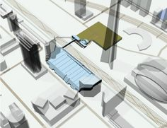 iMap's Interactive Floor Plan for the Metro Toronto Convention Center - Transitioning from exterior to the interior floor levels.
