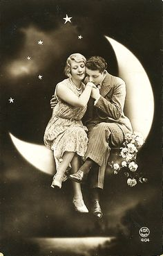 Prince Charming on the moon