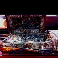 Camo coffin: reasonable.