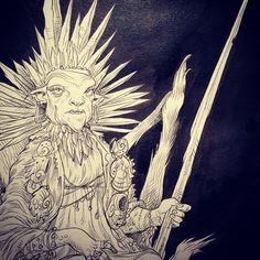 White Trog Queen.