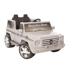 Kid Motorz Mercedes G55 12V Silver