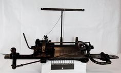 Knitting Machine - Flat-bed, 'Preciosa', Wertheim, 1910 - Museum Victoria