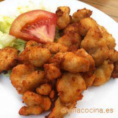 Lagrimitas de pollo » Divina CocinaRecetas fáciles, cocina andaluza y del mundo. » Divina Cocina