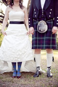 I seriously want to wear my kilt when I get married...