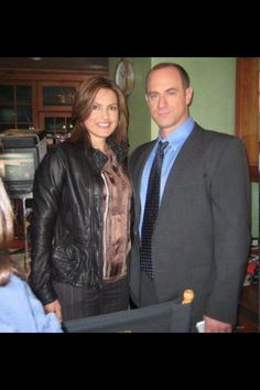 Mariska and Christopher :)