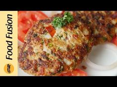 Chicken Chapli Kabab Recipe By Food Fusion - YouTube