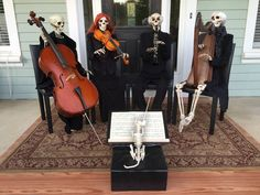 Baxter Skeletons - And now, the Baxter Skeleton Chamber Orchestra playing Shostakovich's String Quartet No. 8 in C Minor. Conducted by Melvin.