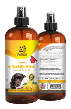 Pet Stain and Odor Remover Spray By Pet Diesel – Best Organic Enzyme Cleaner For Pet Odor Elimination and Dog, Cat Urine Stain Removal - Ideal For Wide Area Stains - with Tea Tree Oils- 4 oz ** Check this awesome image  : Cat litter
