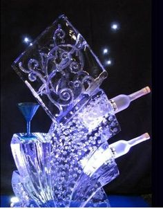 Ice sculptures, luges and centre pieces provide a stunning talking point for any event. With each sculpture hand-carved especially for each client, the possibilities are only limited by your imagination!  Once the LED lights are switched on, they will illuminate your sculpture with a spectacular effect. Why not have your seating plan frozen into a sculpture for something different? http://bigfootevents.co.uk/weddings/finishing-touches/Ice-Sculptures-Ice-Luges.aspx