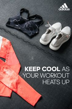 a82445248c6ea Keep cool as your workout heats up with the CMMTTD Marble Chill Bra by  adidas.