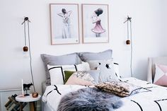 Cómo crear cabeceros con cojines para tu dormitorio http://ini.es/2ptBqxi #Cabeceros, #CabecerosConCojines, #Complementos, #Decoración, #IdeasParaDecorar, #Novedades, #Textiles