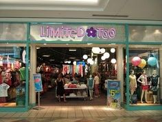 Shopping at Limited Too. Limited Too was where all the cool girls went in the late 90s/early '00s.