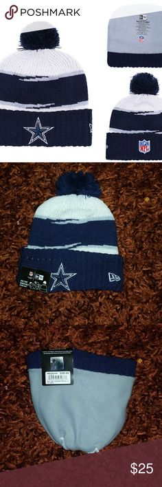 New Era Cowboys Cuffed Knit Hat Brand new Never used Same bussiness day  shipping Perfect gift for your friend 3afb0a18f